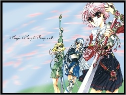 Magic Knight Rayearth, kobiety