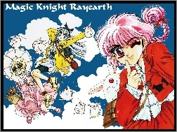 pluszak, Magic Knight Rayearth, ludzie